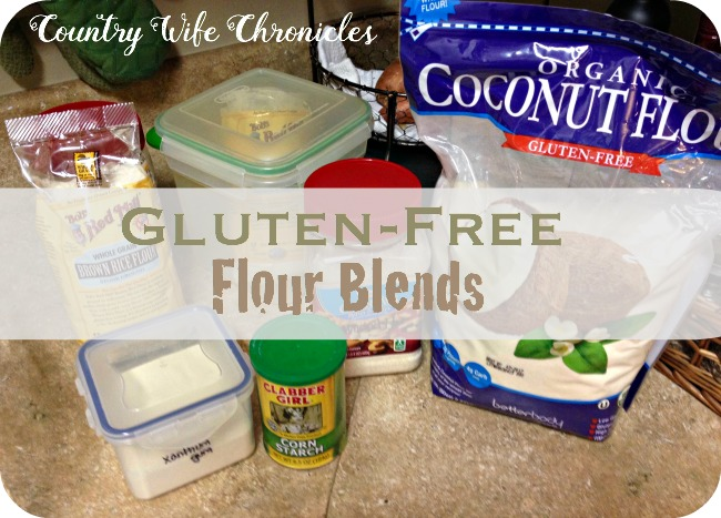 GF Flour Blends at Country Wife Chronicles