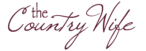 the Country Wife signature for the Country Wife Chronicles blog