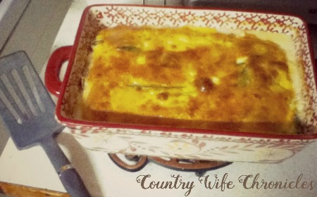 Chile Rellenos Casserole from Country Wife Chronicles