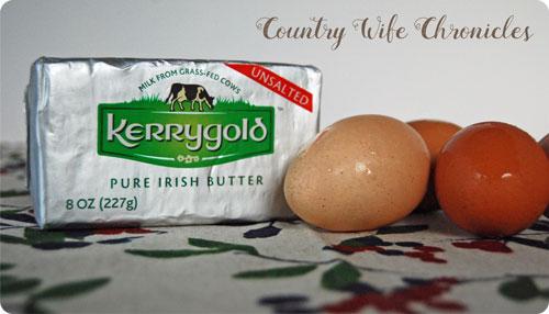 Kerrygold Butter + Eggs