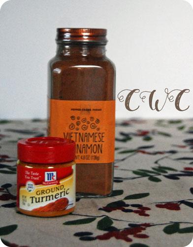 Cinnamon + Turmeric
