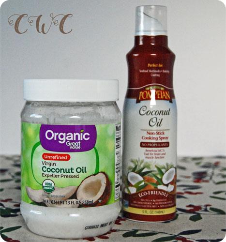 Coconut Oil + Spray