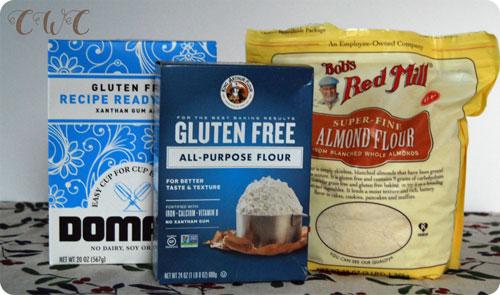 Holiday Baking Gluten Free Flours