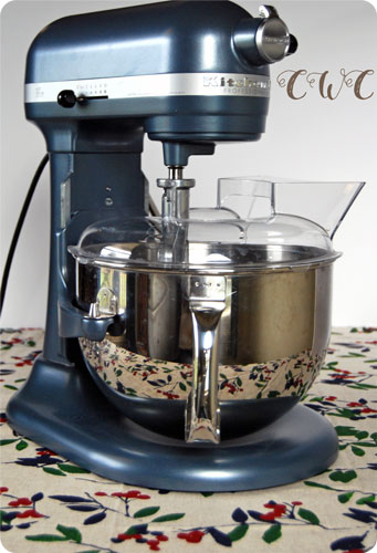 The Country Wife's Kitchen Aid Mixer