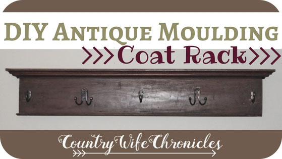 DIY coat rack feature image