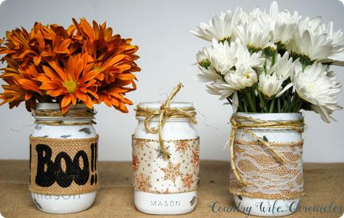 Mason jars for all the seasons