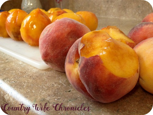 Peaches on Counter - 2