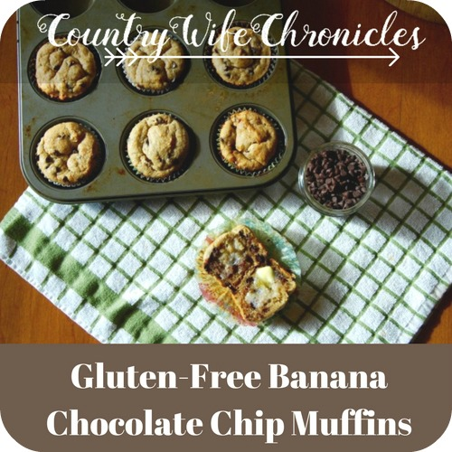 Gluten-Free Banana Chocolate Chip Muffins Feature Image