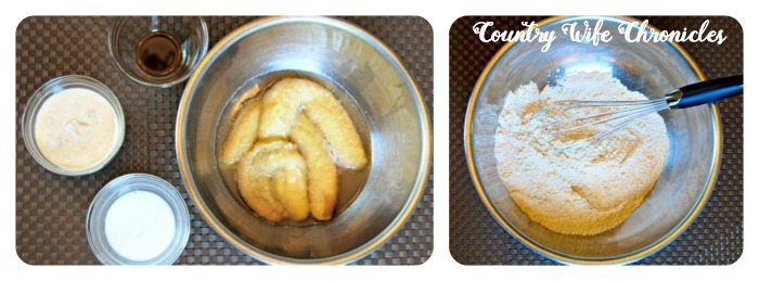 Gluten-Free Banana Muffin Ingredients Collage