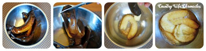 Gluten-Free Banana Muffins Banana Method Collage