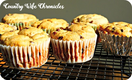 Gluten-Free Banana Muffins on Cooling Rack