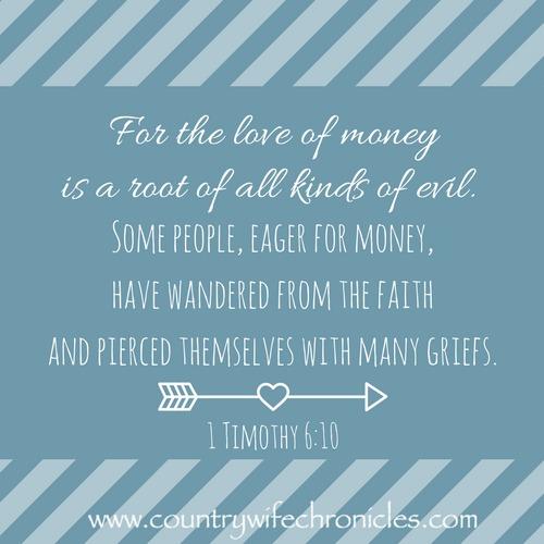 1 Timothy 6:10 Image