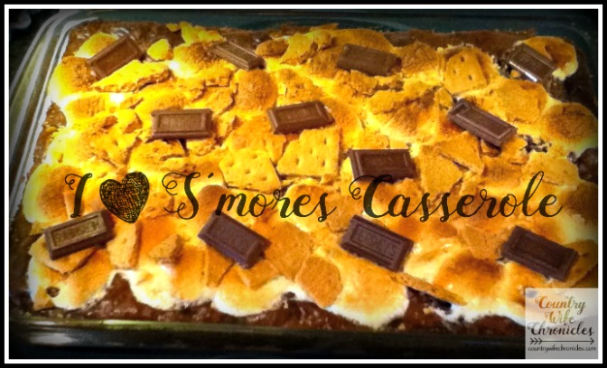 S'mores Casserole by Country Wife Chronicles