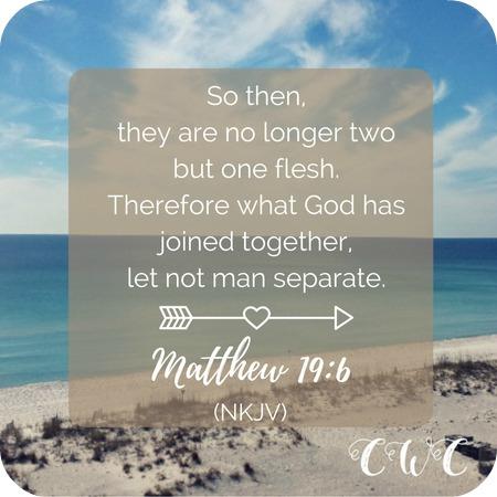 Strengthening Your Marriage Series: Matthew 19:6