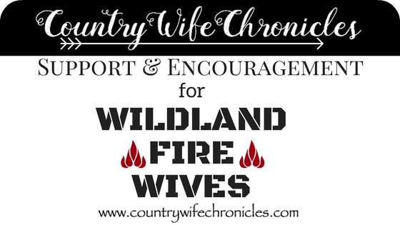 Support & Encouragement for Wildland Fire Wives Title Feature Graphic