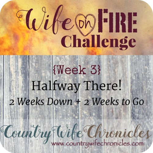 Wife on Fire Challenge Week 3 Feature Image
