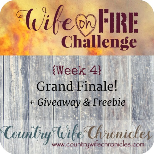 Wife on Fire Challenge Week 4 Feature Image