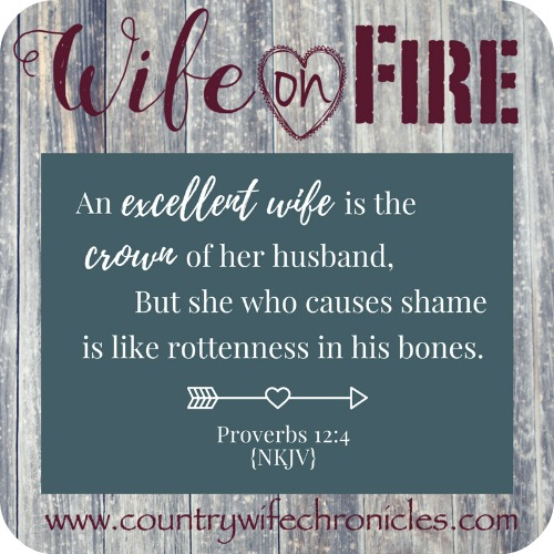 Wife on Fire Challenge Proverbs 12:4
