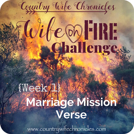 Wife on Fire Challenge 2018 Feature Image {Week 1}